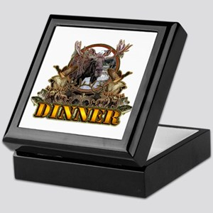 wild game DINNER Keepsake Box