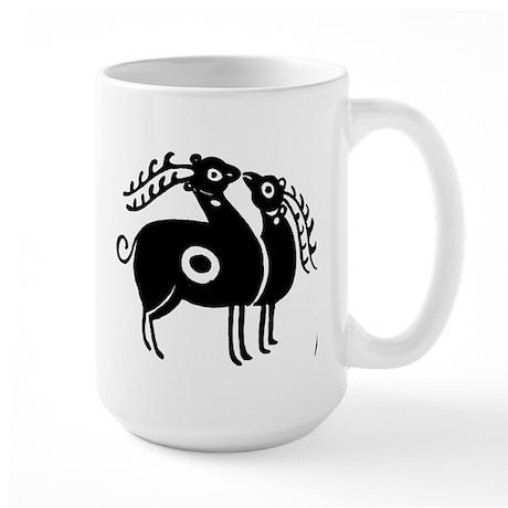 Persian Deer Large Mug