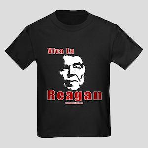 Viva La Reagan Kids Dark T-Shirt
