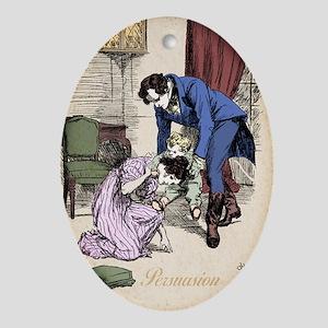 Jane Austen Persuasion Oval Ornament