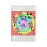 Free Radicals Rectangle Magnet