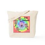 Free Radicals Tote Bag