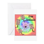 Free Radicals Greeting Cards (Pk of 20)