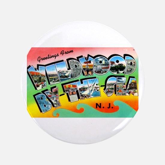 "Cute Jersey city 3.5"" Button"