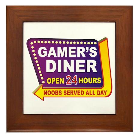 Gamer's Framed Tile