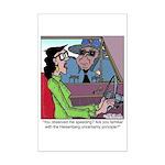 Heisenberg Uncertainty Principle Mini Poster Print