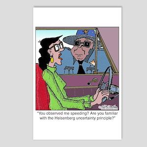 Heisenberg Uncertainty Principle Postcards (Packag