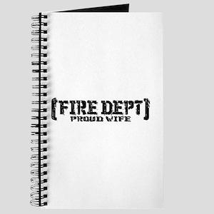 Proud Wife Fire Dept Journal