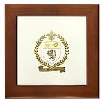 MAUDOUX Family Crest Framed Tile