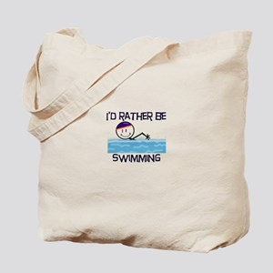 I'd Rather Be Swimming Tote Bag