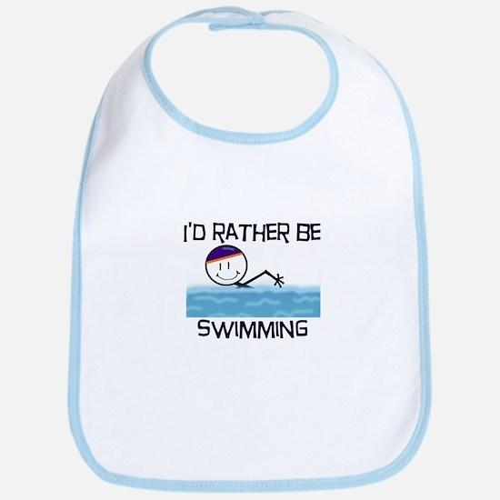 I'd Rather Be Swimming Bib