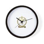 MAUDOUX Family Crest Wall Clock