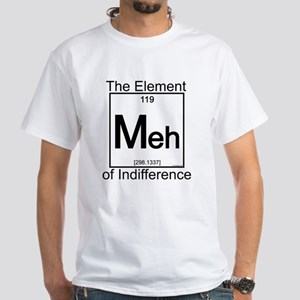 Element MEH White T-Shirt