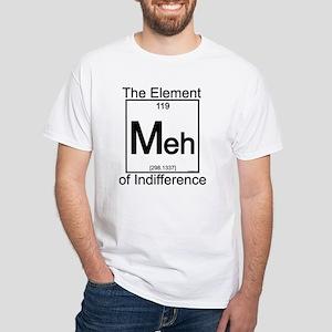 Element MEH White T-Shirt