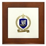 LEJEUNE Family Crest Framed Tile