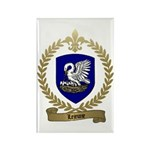 LEJEUNE Family Crest Rectangle Magnet (100 pack)