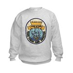 USS KING Kids Sweatshirt