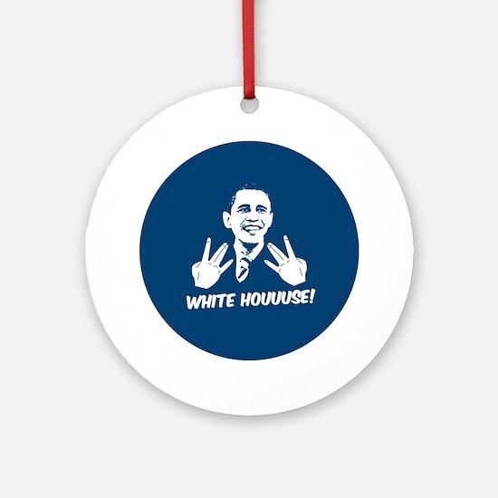 White Houuuse! Ornament (Round)
