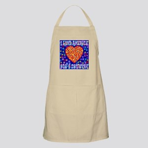 God's Country BBQ Apron