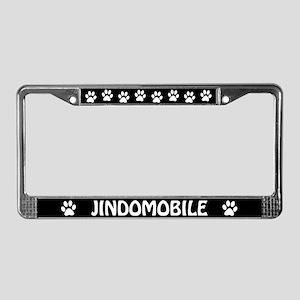 Jindomobile License Plate Frame