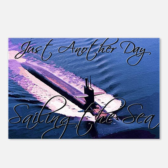 Sailing at Sea Postcards (Package of 8)