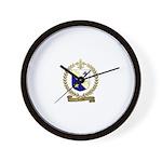 LEMIRE Family Crest Wall Clock
