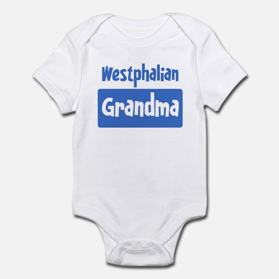 Westphalian grandma Infant Bodysuit