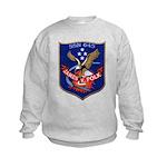 USS JAMES K. POLK Kids Sweatshirt