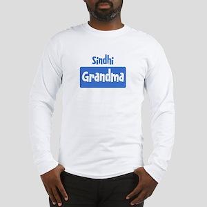 Sindhi grandma Long Sleeve T-Shirt