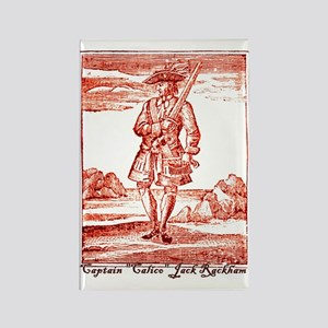 Calico Jack Pirate Rectangle Magnet
