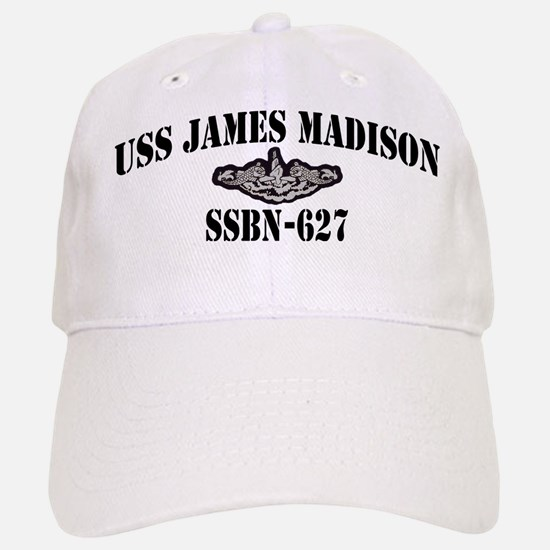 USS JAMES MADISON Baseball Baseball Cap