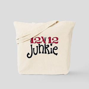 12x12 Junkie Tote Bag