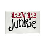 12x12 Junkie Rectangle Magnet
