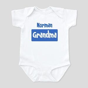 Norman grandma Infant Bodysuit