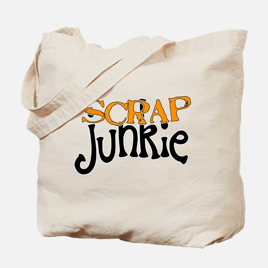 Scrap Junkie Tote Bag