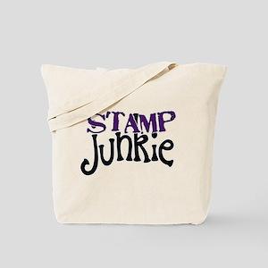 Stamp Junkie Tote Bag
