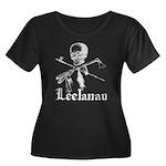 Leelanau Pirate - Women's Plus Size Scoop Neck Dar
