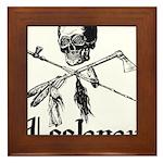 Leelanau Pirate - Framed Tile