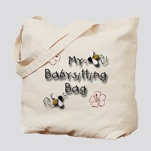 My Babysitting Tote Bag
