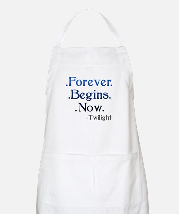 Forever Begins Now BBQ Apron