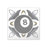8 Ball Deco Sticker