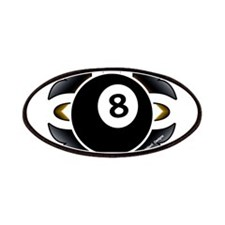 8 Ball Deco Patch