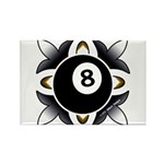 8 Ball Deco Magnets