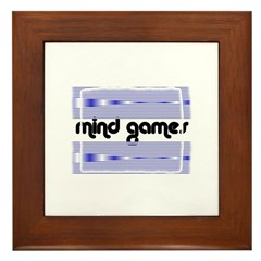 MIND GAMES Framed Tile