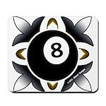 8 Ball Deco Mousepad
