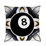 8 Ball Deco Everyday Pillow