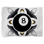 8 Ball Deco Pillow Sham