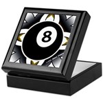 8 Ball Deco Keepsake Box