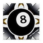 8 Ball Deco Tile Coaster
