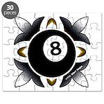 8 Ball Deco Puzzle